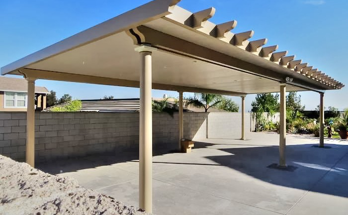 Free Standing Alumawood Patio Cover, California